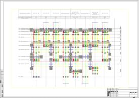 Оформление чертежей в Model Studio CS ОРУ. План ПС