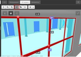 Средства CADLib Веб-сервер позволяют производить измерения на модели